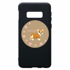 Phone case for Samsung S10e Sweetie dog