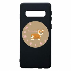 Phone case for Samsung S10 Sweetie dog