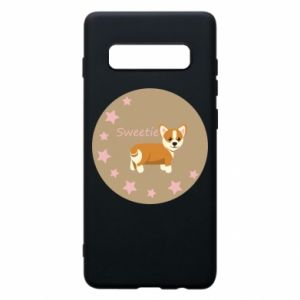 Phone case for Samsung S10+ Sweetie dog