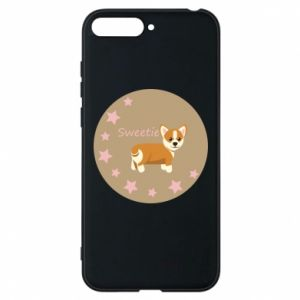 Phone case for Huawei Y6 2018 Sweetie dog