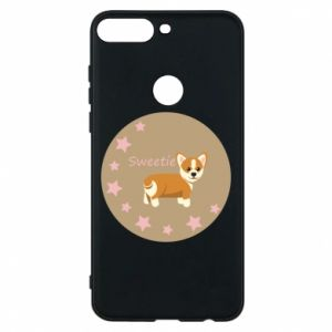 Phone case for Huawei Y7 Prime 2018 Sweetie dog