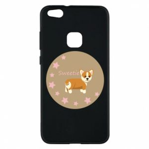 Phone case for Huawei P10 Lite Sweetie dog