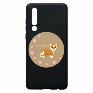 Phone case for Huawei P30 Sweetie dog