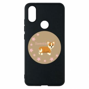 Phone case for Xiaomi Mi A2 Sweetie dog