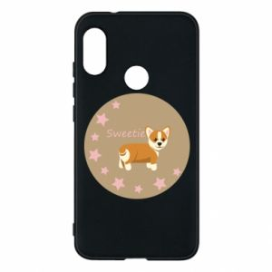 Phone case for Mi A2 Lite Sweetie dog