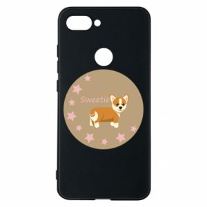 Etui na Xiaomi Mi8 Lite Sweetie dog - PrintSalon