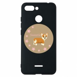 Phone case for Xiaomi Redmi 6 Sweetie dog