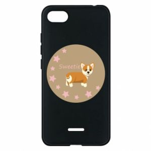 Phone case for Xiaomi Redmi 6A Sweetie dog