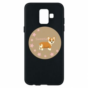 Phone case for Samsung A6 2018 Sweetie dog
