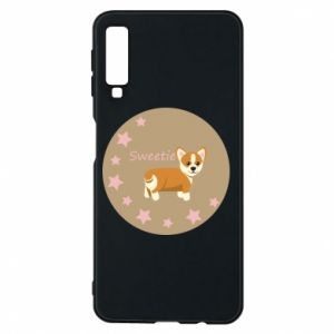 Phone case for Samsung A7 2018 Sweetie dog
