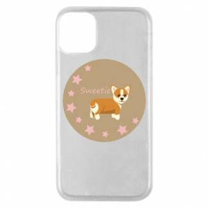 Phone case for iPhone 11 Pro Sweetie dog