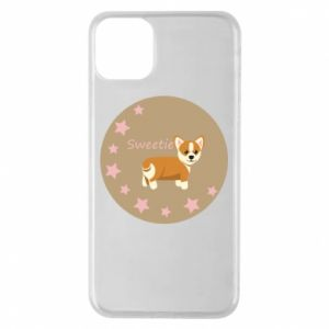 Phone case for iPhone 11 Pro Max Sweetie dog