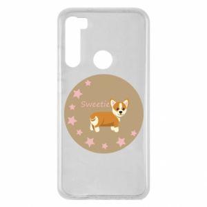 Xiaomi Redmi Note 8 Case Sweetie dog