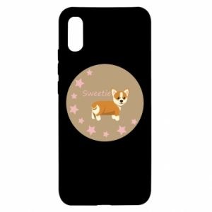 Xiaomi Redmi 9a Case Sweetie dog