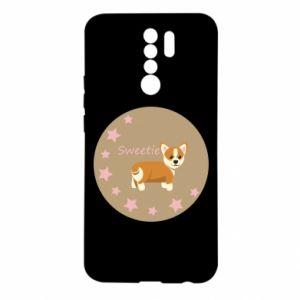 Etui na Xiaomi Redmi 9 Sweetie dog