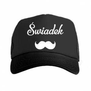 Trucker hat Wedding witness - PrintSalon