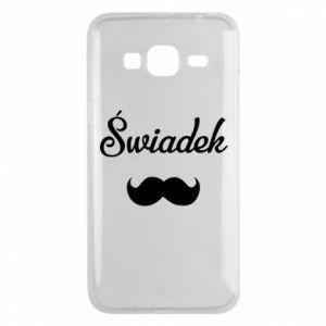 Phone case for Samsung J3 2016 Wedding witness