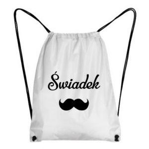Backpack-bag Wedding witness - PrintSalon