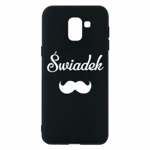 Phone case for Samsung J6 Wedding witness - PrintSalon