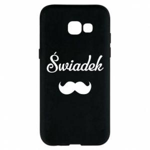 Phone case for Samsung A5 2017 Wedding witness - PrintSalon