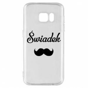 Phone case for Samsung S7 Wedding witness - PrintSalon