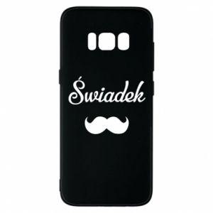 Phone case for Samsung S8 Wedding witness - PrintSalon