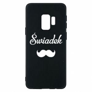 Phone case for Samsung S9 Wedding witness - PrintSalon