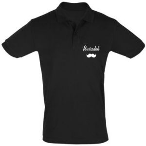 Men's Polo shirt Wedding witness - PrintSalon
