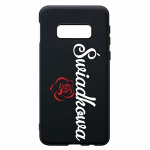 Phone case for Samsung S10e Wedding witness, for her - PrintSalon