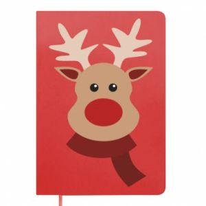 Notepad Christmas moose