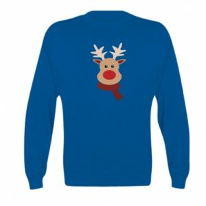 Kid's sweatshirt Christmas moose