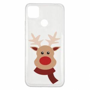 Xiaomi Redmi 9c Case Christmas moose