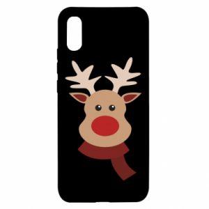 Xiaomi Redmi 9a Case Christmas moose