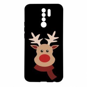 Xiaomi Redmi 9 Case Christmas moose