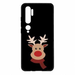 Xiaomi Mi Note 10 Case Christmas moose
