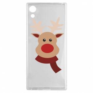 Sony Xperia XA1 Case Christmas moose