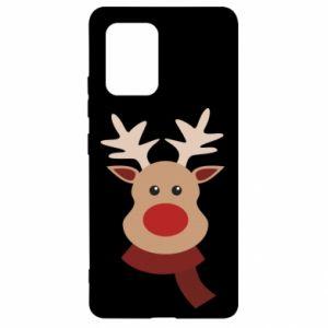 Samsung S10 Lite Case Christmas moose
