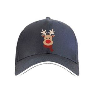 Cap Christmas moose