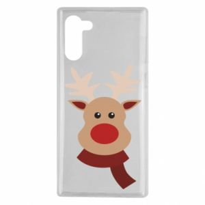 Samsung Note 10 Case Christmas moose