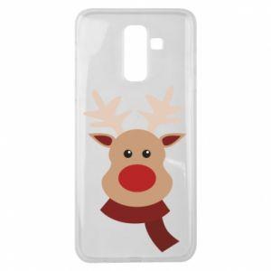 Samsung J8 2018 Case Christmas moose