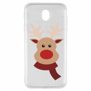 Samsung J7 2017 Case Christmas moose
