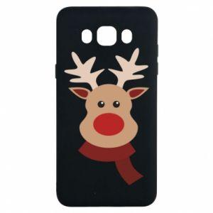 Samsung J7 2016 Case Christmas moose
