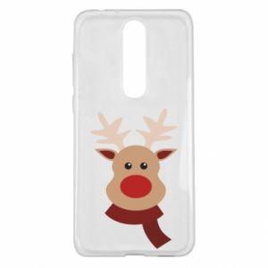 Nokia 5.1 Plus Case Christmas moose