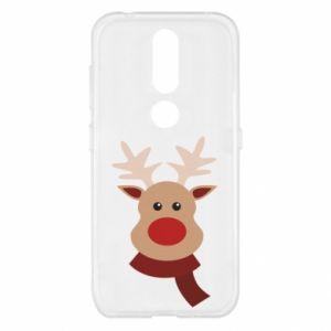 Nokia 4.2 Case Christmas moose