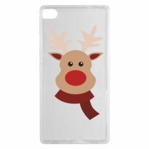Huawei P8 Case Christmas moose