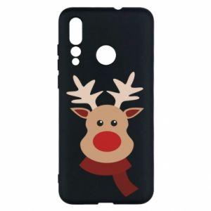 Huawei Nova 4 Case Christmas moose