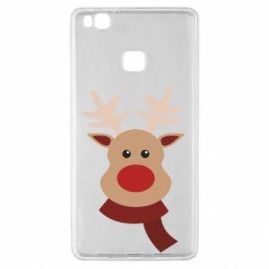 Huawei P9 Lite Case Christmas moose