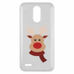 Lg K10 2017 Case Christmas moose