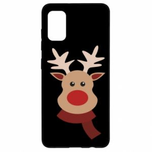 Samsung A41 Case Christmas moose
