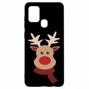 Samsung A21s Case Christmas moose
